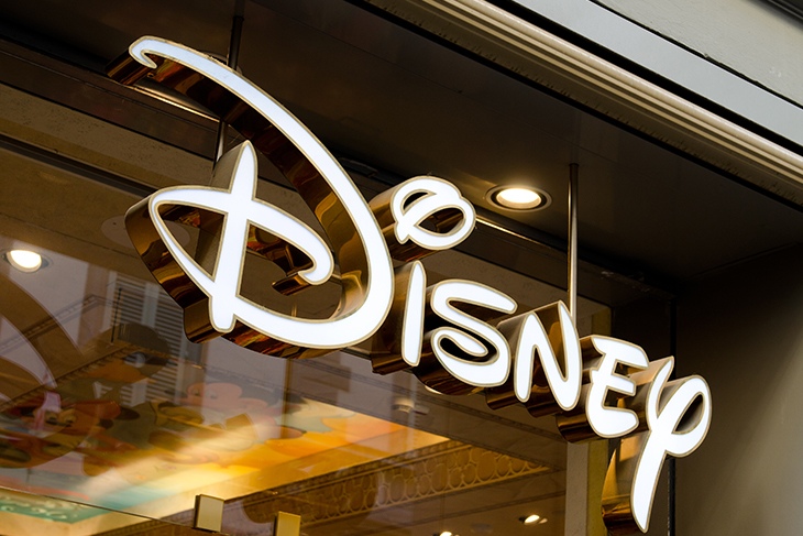 Store front of a Disney store in Florence, Italy