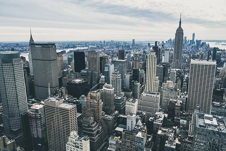 Large city skyline