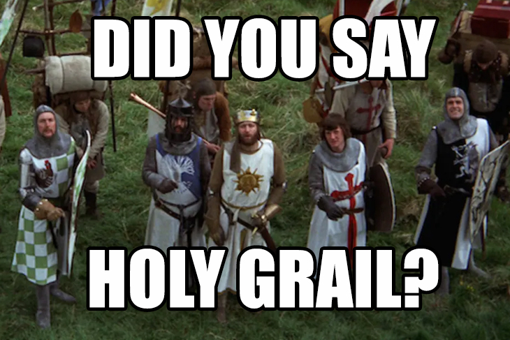 Monty Python Holy Grail Meme