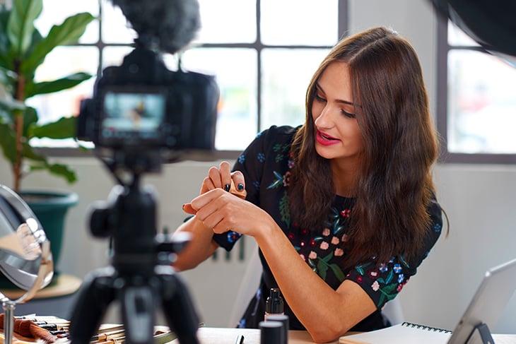 influencer marketing on video