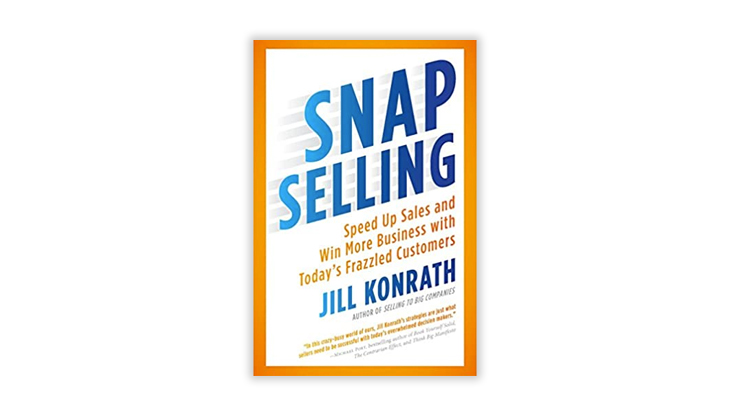 Snap Selling book cover
